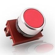Кнопка красная с подсветкой М22 4А - фото 5608