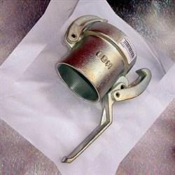 Соединение внешнее 65 мм быстроразъемное с резьбой (мама) для гасителя - фото 5792