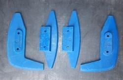 Комплект лопастей растворонасоса Br, Pm, Estromat, BMS, Grand, СО - фото 5858