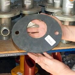 Прокладка выхода смесителя растворонасоса PM - фото 5901