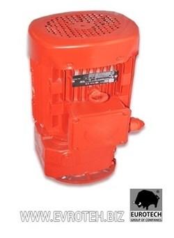 Мотор редуктора штукатурной станции 380 V, 5.5 kW, 368об/мин. - фото 6243