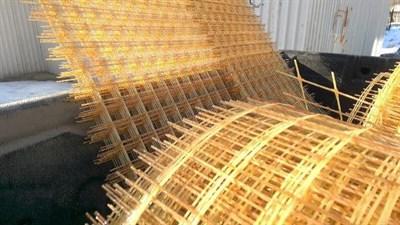 Сетка композитная стеклопластиковая 100/100 бухты по 25м. - фото 6299
