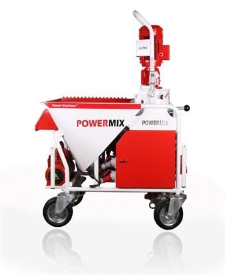 Штукатурная станция PowerMix Alfa - фото 6582