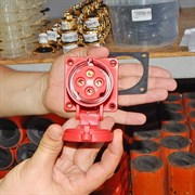 СЕЕ - разъем внутренний 4х16А (гнездовой) для компрессора