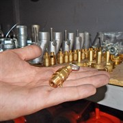 Предохранительный клапан компрессора штукатурной станции